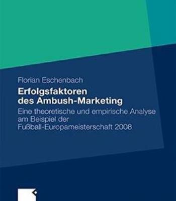 Erfolgsfaktoren Des Ambush-Marketing PDF