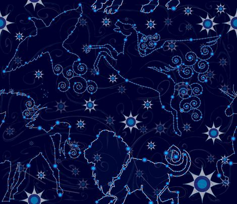 99 best images about star sun moon backgrounds on for Moon fleece fabric