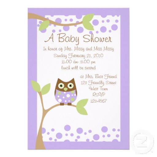 purple owl baby shower invitation baby owl owl babies owl baby showers