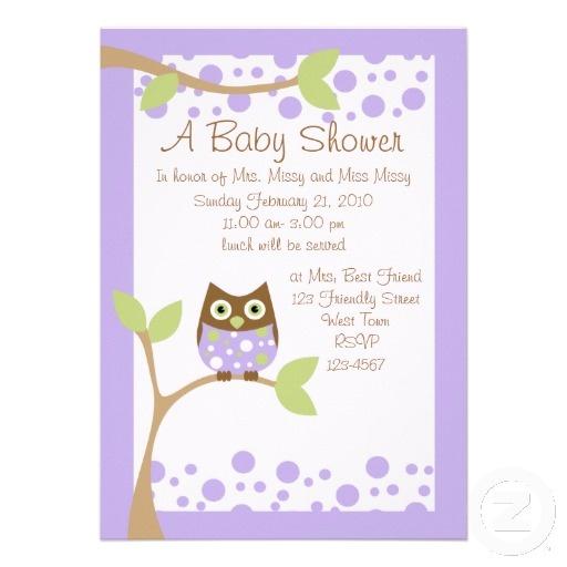 purple owl baby shower invitation baby owl owl babies owl baby showers