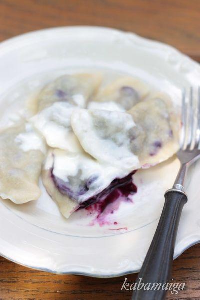 ' Polish Blueberry perogies...better than sex!