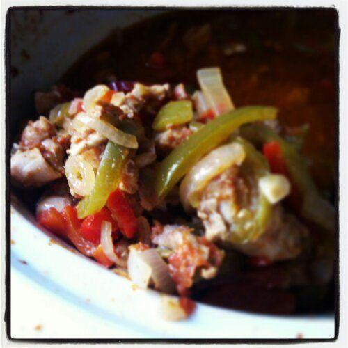 Crockpot Chicken Fajitas#HEALTHY #CHICKEN# RECIPES