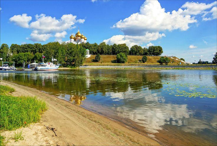 Куда прогуляться с детьми летними выходными? В Ярославль! #Russia #travel #Yaroslavl