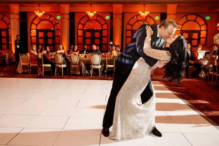 Luxury ballroom destination wedding at Condado Vanderbilt Hotel in San Juan, Puerto Rico | Elegant hotel destination wedding venues | Noel Del Pilar | STEM Events