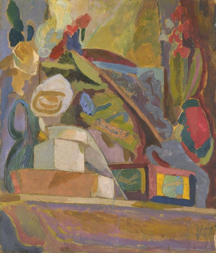 Duncan Grant 'The Mantelpiece', 1914 © The estate of Duncan Grant
