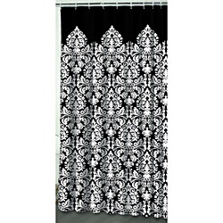 Black And White Damask Shower Curtain 26 best bathroom images on pinterest