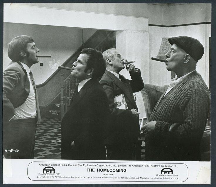 The Homecoming '73 PAUL ROGERS MICHAEL JAYSTON CYRIL CUSACK IAN HOLM SMOKING