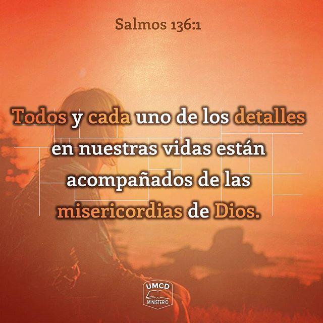 """ME MOSTRARON DE SU AMOR Salmos 136:1-4 """"Alabad a Jehová, porque él es bueno, Porque para siempre es su misericordia. Alabad al Dios de los dioses, Porque para siempre es su misericordia. Alabad al Señor de los señores, Porque para siempre es su misericordia. Al único que hace grandes maravillas, Porque para siempre es su misericordia."""" El Salmo 136 es un llamado constante a alabar las misericordias de Dios, en estos 26 versículos se mencionan varias razones por las que debemos recordar cuán…"""