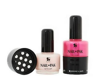 "Set of 2 Nail Pak All n 1 Polish Remover & File, saw this tonight on ""Shark Tank"" - LOVE it, especially for travel!"
