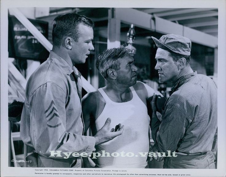 CA193 1955 Original Photo ALDO RAY & MIKE DAVIS Three Stripes In The Sun Actors | Collectibles, Photographic Images, Contemporary (1940-Now) | eBay!