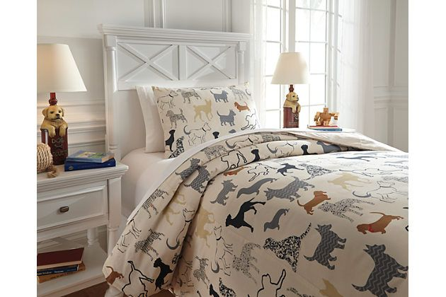 Howley 2-Piece Twin Duvet Cover Set by Ashley HomeStore, Multi, Cotton (100 %)