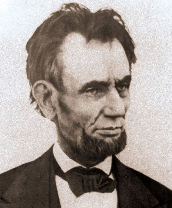 One of the last photos taken of Abraham Lincoln