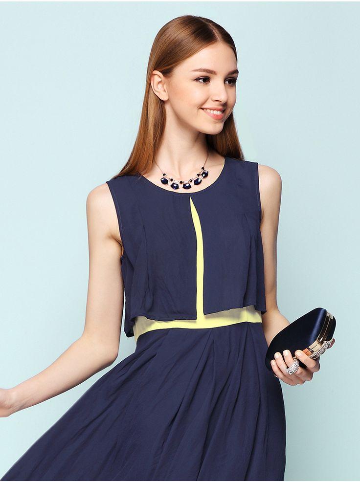 black&yellow #dress