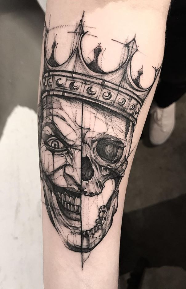 26 Black & Gray Awesome Tattoos by Bk_tattooer   – INK -Neat Work/Ideas