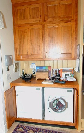 California country washer and dryer in the kitchen open for Cal s country kitchen