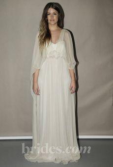 Brides: Leila Hafzi - Spring 2013 | Bridal Runway Shows | Wedding Dresses and Style | Brides.com