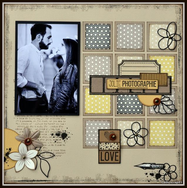 les 25 meilleures id es de la cat gorie pages de scrapbooking sur pinterest id es de. Black Bedroom Furniture Sets. Home Design Ideas