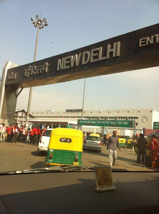 New Delhi Railway Station (NDLS) in New Delhi, Delhi