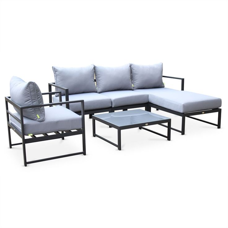 les 25 meilleures id es de la cat gorie salon de jardin. Black Bedroom Furniture Sets. Home Design Ideas