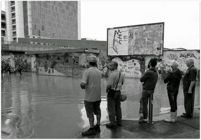 Milano Isola -Cavalcavia Don Eugenio Bussa. Esondazione Seveso, 8 luglio 2014