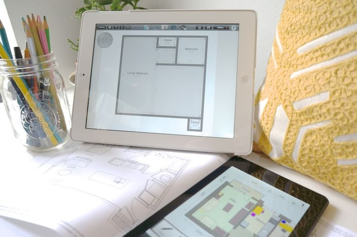 Here are some room design and room layout apps I've tried for both the iPad and Android tablets for imagining how my furniture will work in a space.