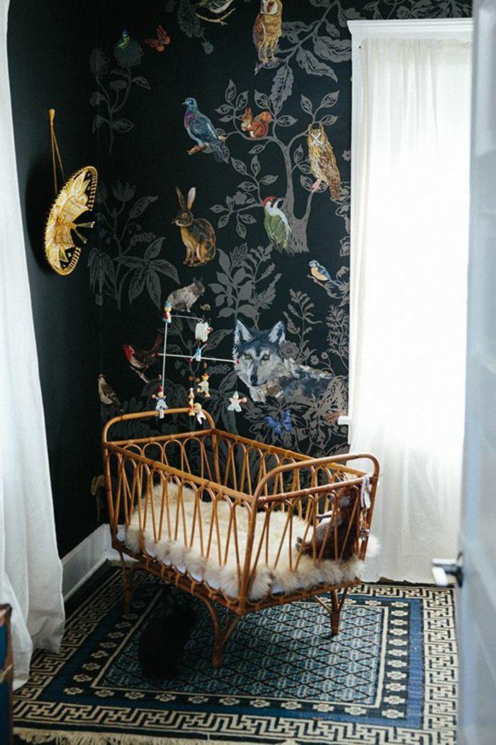 Les 25 meilleures id es concernant rideaux peints sur for Rideaux chambre d enfant