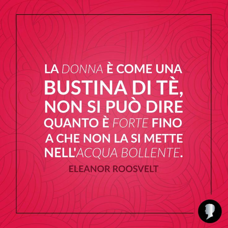 È bene ricordarselo sempre.   #Testanera #quote #citazione #EleanoreRoosvelt #empowering