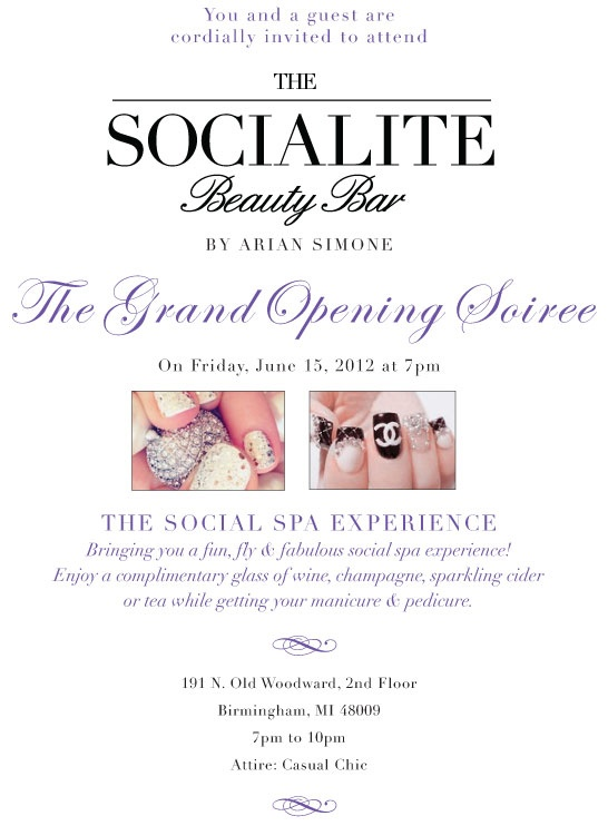 Socialite Beauty Bar Downtown Birmingham Mi Great Idea For My Mary Kay