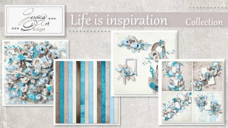 Life is inspiration collection by Jessica art-design