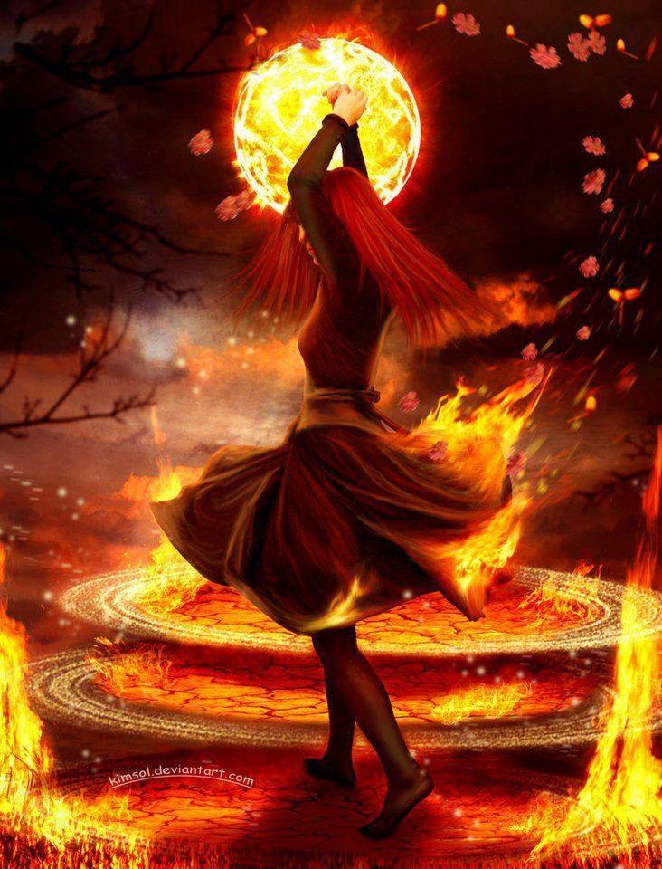 Танец огня картинки