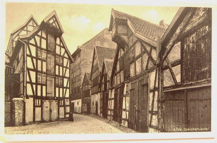 Königsberg in Preussen - Altes Speicherviertel, um ca. 1925
