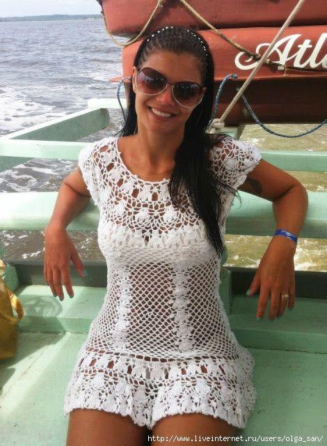 Мини-платье для пляжа. Обсуждение на LiveInternet - Российский Сервис Онлайн-Дневников