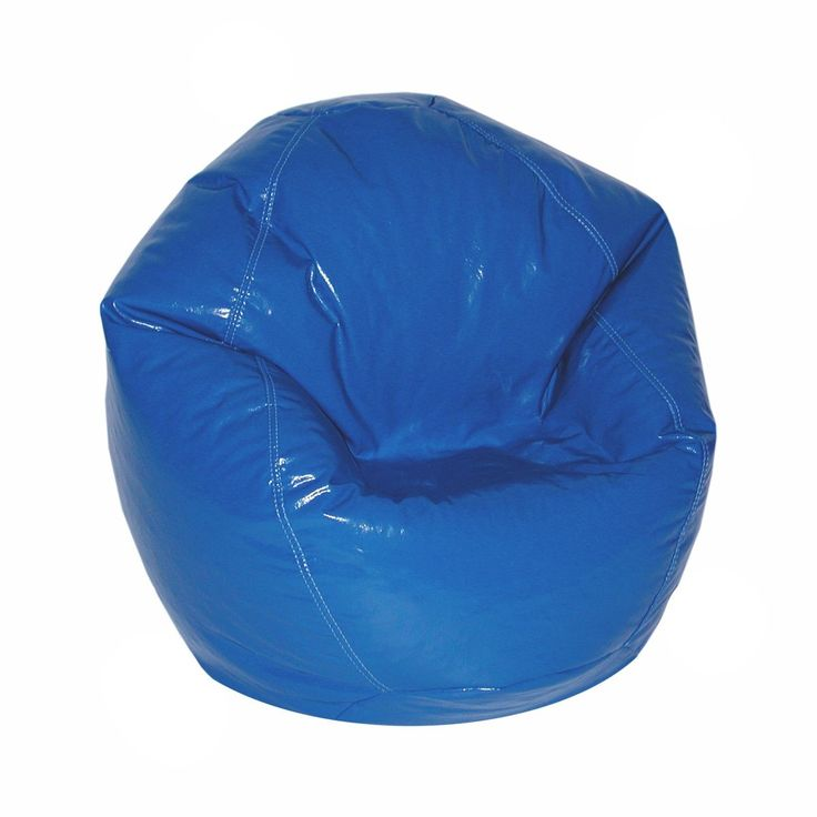 Wetlook Junior Bean Bag Nautial Blue Size Small Vinyl