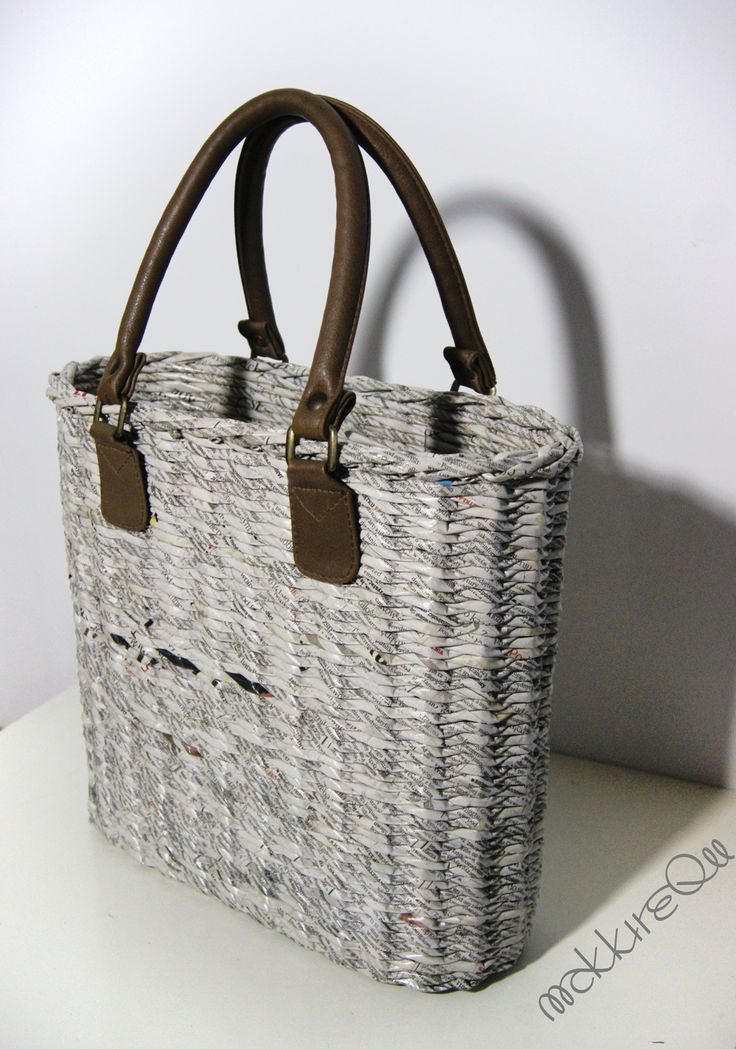 newspaper basket- bag