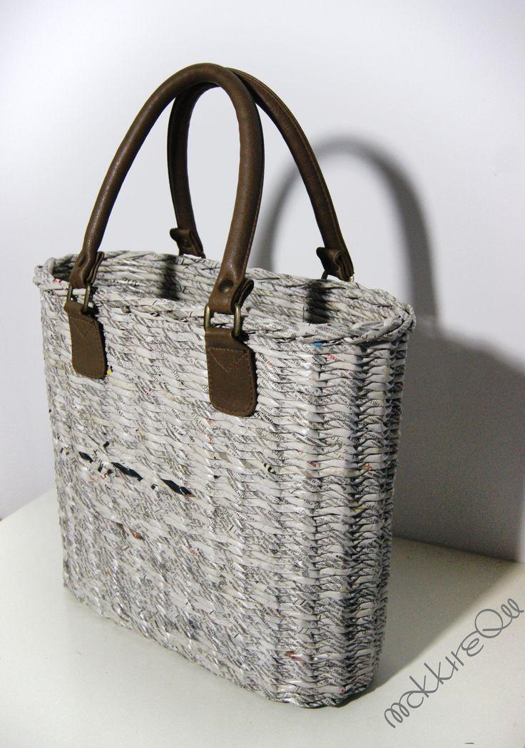 newspaper basket- bag