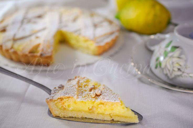 Torta+di+pinoli+ricetta+napoletana+facile+e+veloce