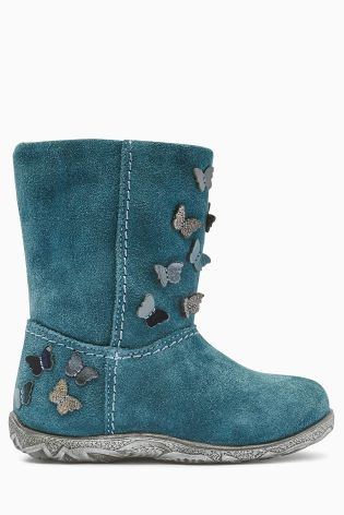 Buy Butterfly Detail Boots (Younger Girls) online today at Next: Belgium