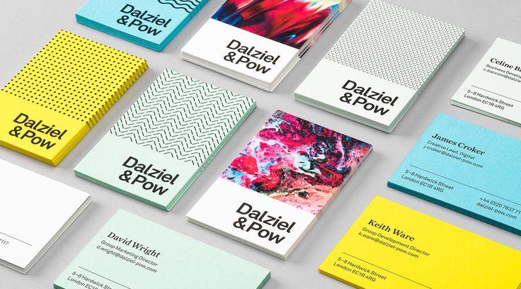 Amazing identity for Dalziel & Pow, a London agency