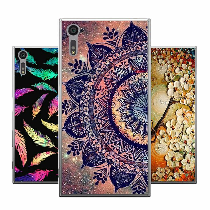 For Sony Xperia XZ F8331 Case Cover 5.2 inch Printing Soft Silicone Protective Phone Case For Sony XZ F8332 TPU Fundas