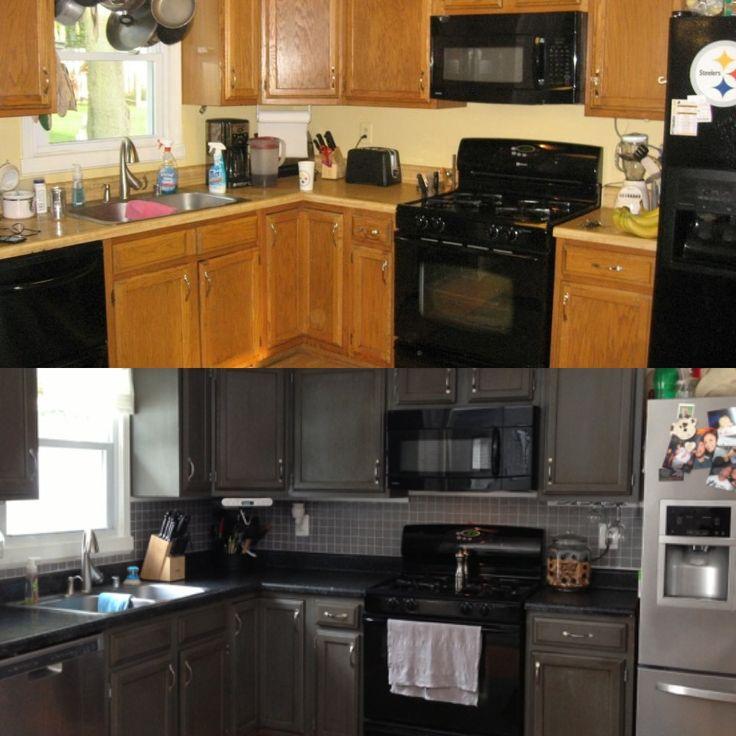 Rustoleum Countertop Transformation And Cabinet Transformation | Kitchen |  Pinterest | Rustoleum Countertop, Cabinet Transformations And Countertop