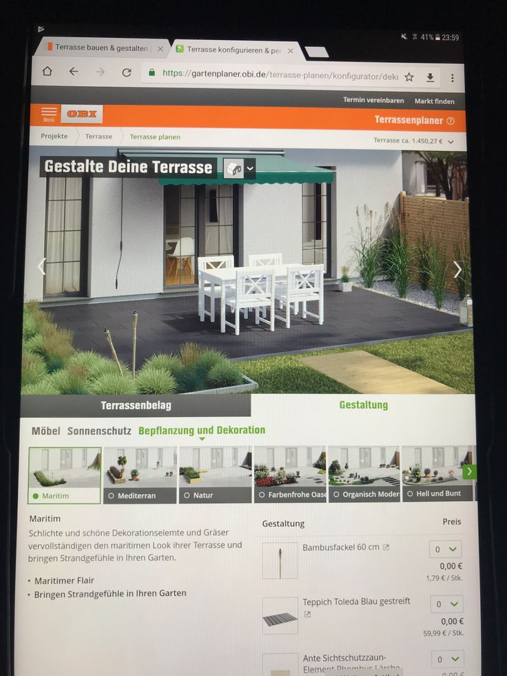 10 best Pflegeleichter garten images on Pinterest - espacement plot beton terrasse