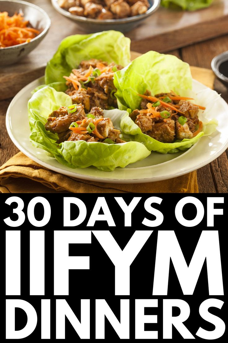 If It Fits Your Macros 101: 30-Day IIFYM Diet Plan for Beginners
