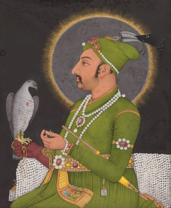 Emperor Muhammad Shah, by Muhammad Reza-i Hindi, 1764. The Cleveland Museum of Art