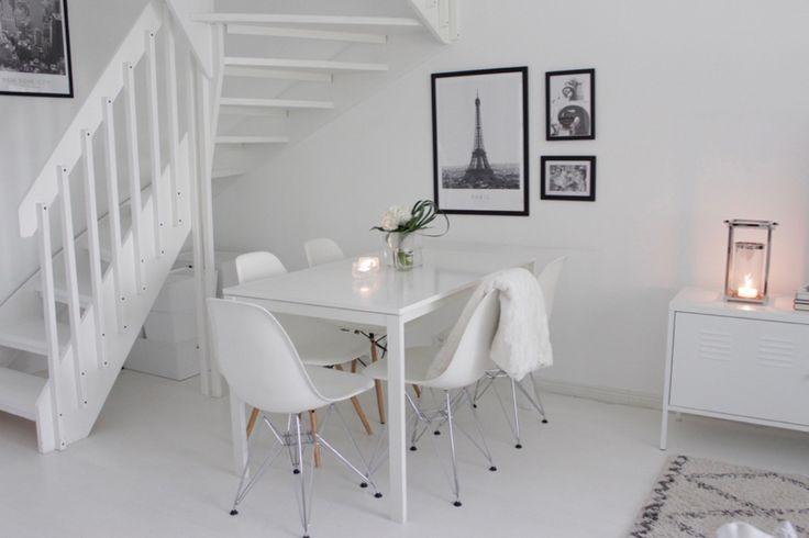 White dining room   Home Vanilla interior
