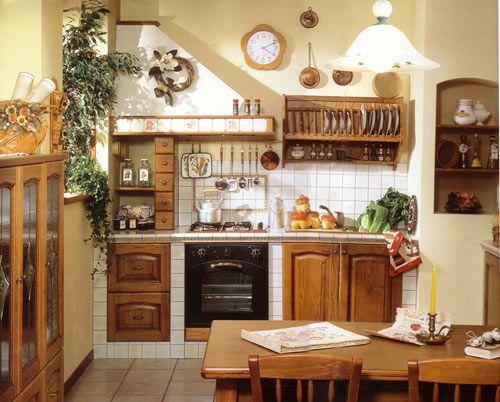 Cucine in muratura cerca con google cucina pinterest for Immagini di case rustiche