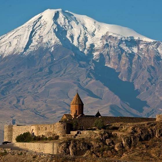 The Khor Virap monastery Armenia