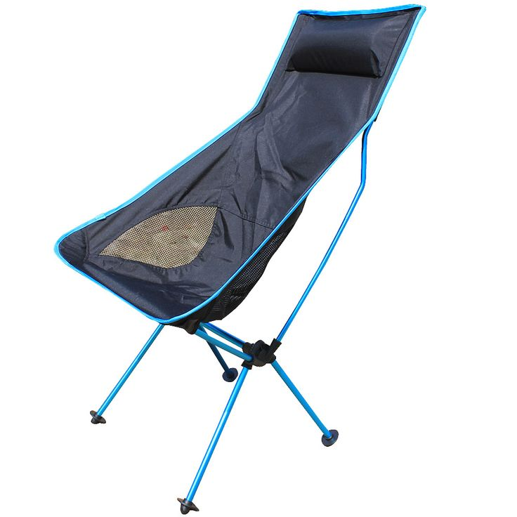 Portable Stable Foldable Mesh Chair Seat Lightweight Seat for Hiking Fishing Picnic Barbecue Beach Chair Other Fishing Tools