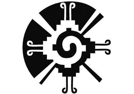mayan symbol tattoo HUNAB KU, THE MAYAN SYMBOL FOR PEACE, UNITY, BALANCE, WHOLENESS AND THE UNIVERSE