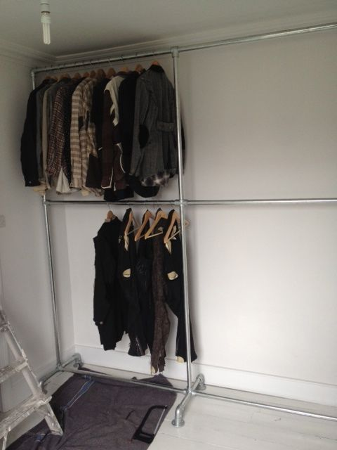 The DIY done for the weekend is nice, but what Stephen Mann populates the racks is the real heart-stopper.
