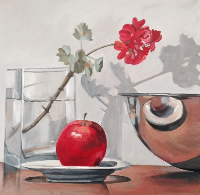 Geranium and Apple